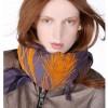 Как завязывать широкий шарф