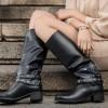Как выбрать стильные женские сапоги на зиму?