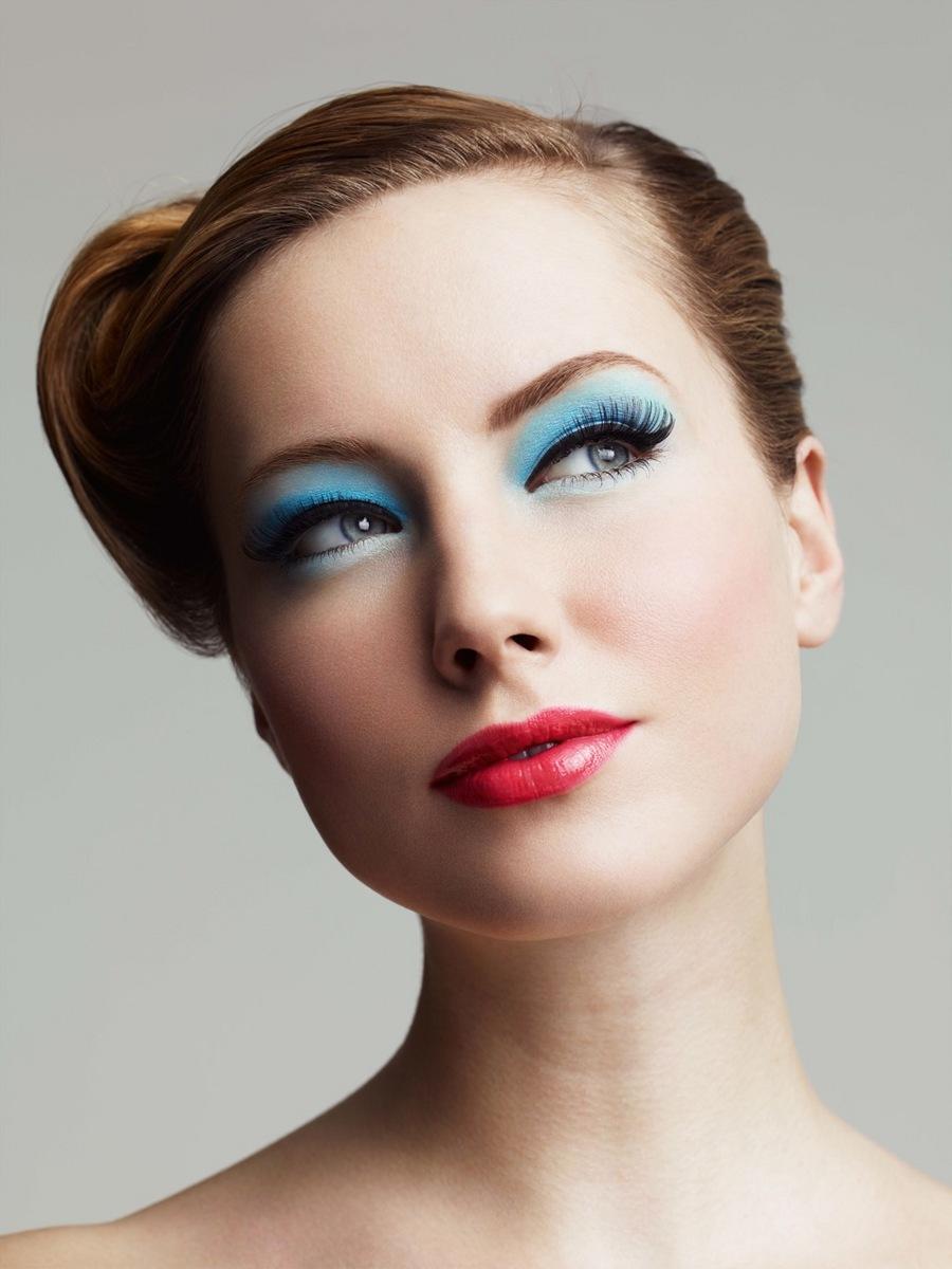 Пастельные оттенки в макияже