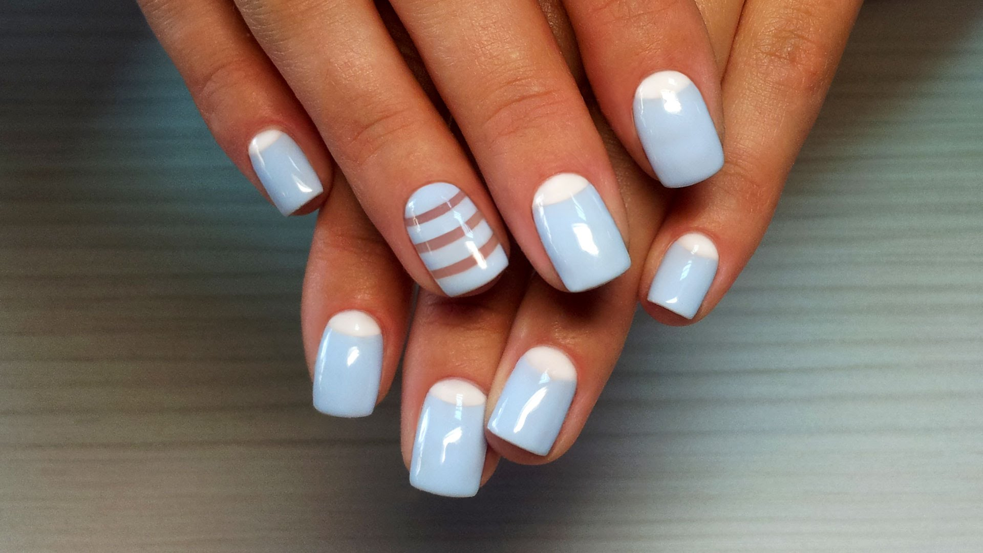 Дизайн ногтей гель-лак shellac — Лунный маникюр + роспись ...